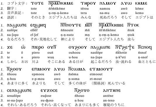 コプト文字